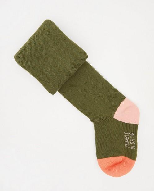 Collant vert foncé Tumble 'n Dry - piqûres verticales - Tumble 'n Dry