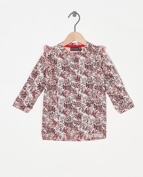 Robe rose molletonnée Tumble 'n Dry - à imprimé intégral - Tumble 'n Dry