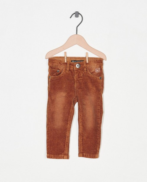 Pantalon brun Tumble 'n Dry - en velours côtelé - Tumble 'n Dry