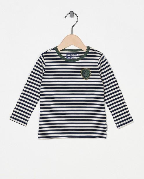 T-shirt à manches longues rayé Tumble 'n Dry - bleu, beige et vert - Tumble 'n Dry