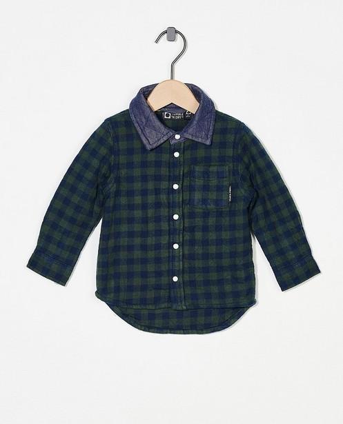 Chemise à carreaux Tumble 'n Dry - bleue et verte - Tumble 'n Dry