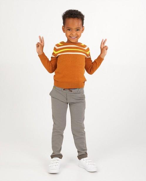 Pantalon à carreaux Hampton Bays - en brun, noir et gris - Hampton Bays