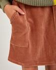 Jupes - Jupe brune en velours côtelé BESTies