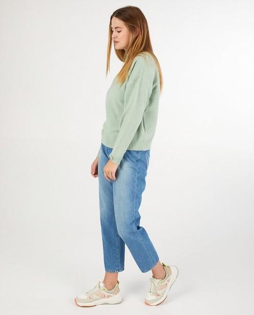 Pull vert clair Sora - en fin tricot - Sora