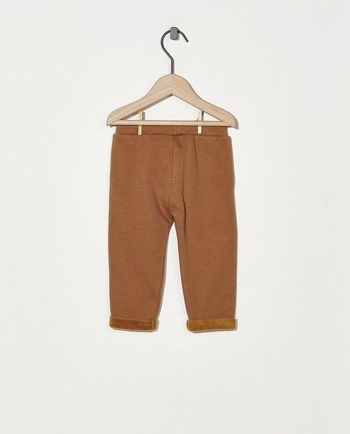 Pantalon brun BESTies - stretch - Besties