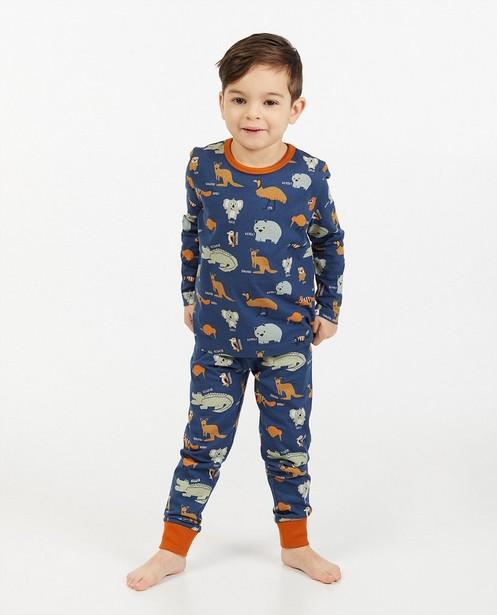 Pyjama bleu à imprimé - intégral - Kidz Nation