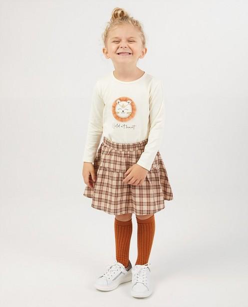 T-shirt à manches longues en coton bio - avec imprimé - Milla Star