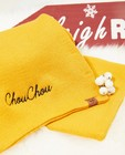 Gele unisex sjaal, Studio Unique - personaliseerbaar - JBC