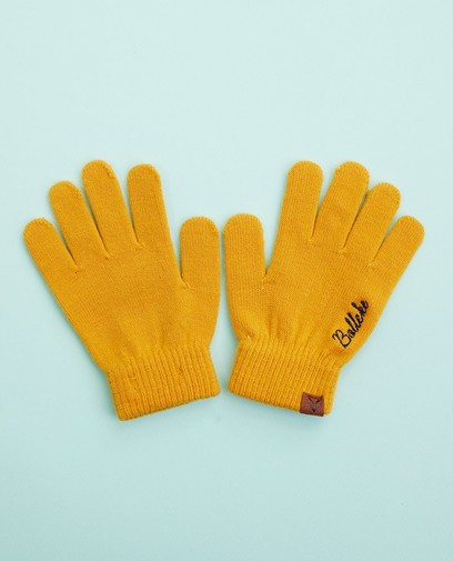 Gele handschoenen, Studio Unique