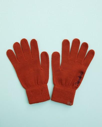 Oranje handschoenen, Studio Unique