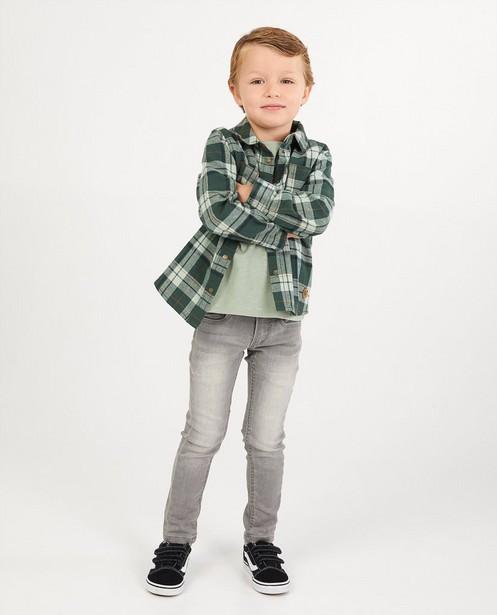 Chemise verte à carreaux Vic - intégral - Vic le Viking