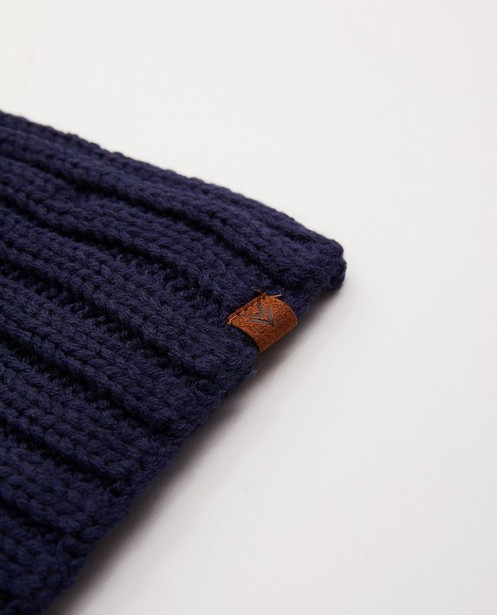 Breigoed - Donkerblauwe sjaal