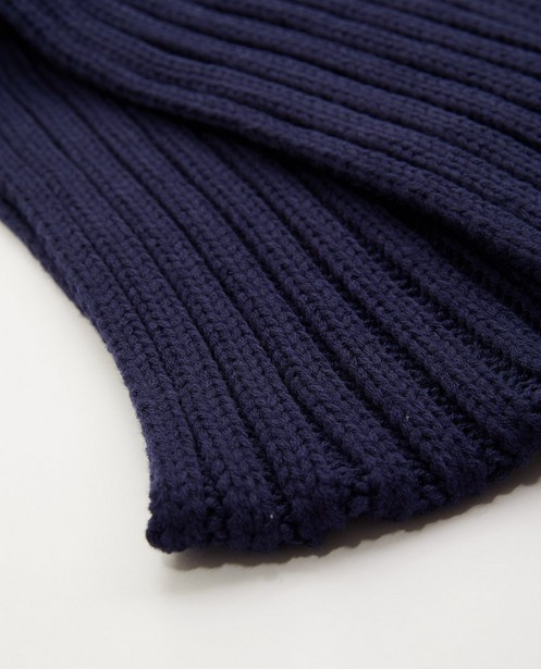 Bonneterie - Écharpe bleue