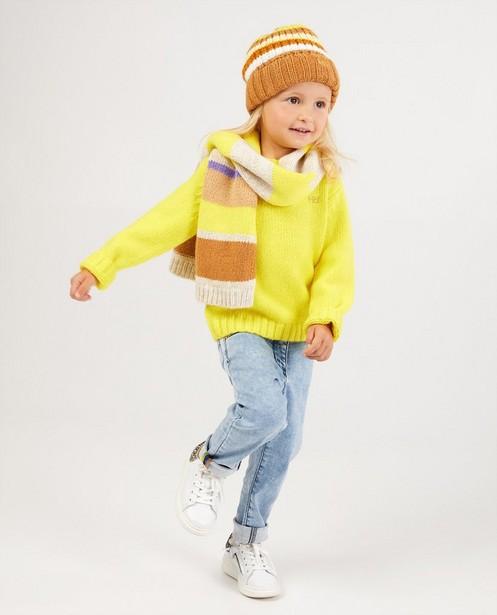 Pull jaune Hampton Bays - en fin tricot - Hampton Bays
