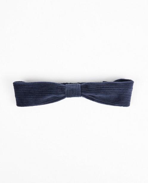 Blaues Haarband - aus Samt - JBC