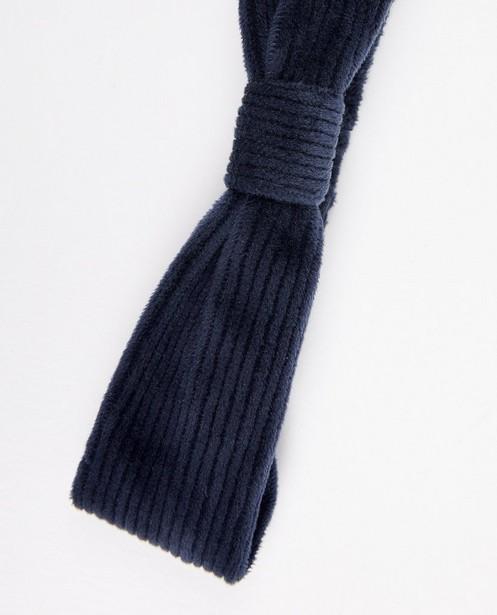 Strickware - Blaues Haarband
