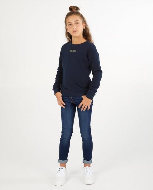 Sweater mit Aufschrift (NL) - #familystories - Familystories