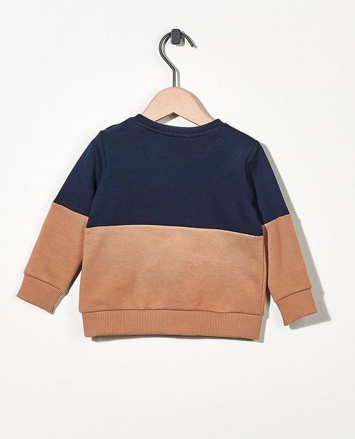 Sweaters - Sweater met opschrift (NL)