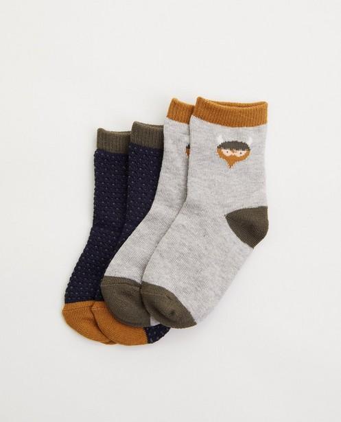 Lot de 2 paires de chaussettes - viking - avec imprimé - Cuddles and Smiles