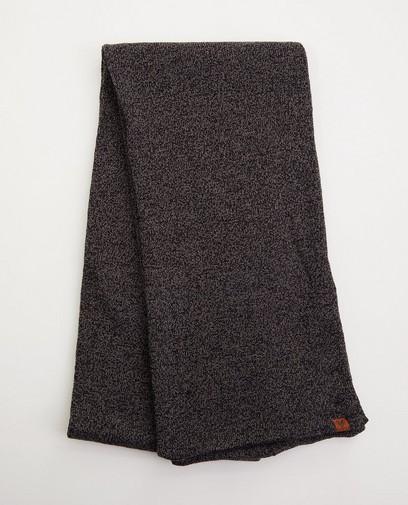 Donkergrijze sjaal