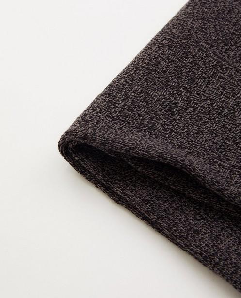 Breigoed - Donkergrijze sjaal