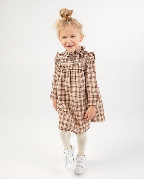 Kleid mit Karomuster - Durchgehend - Milla Star