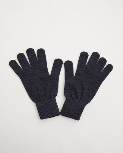 Gants gris - one size