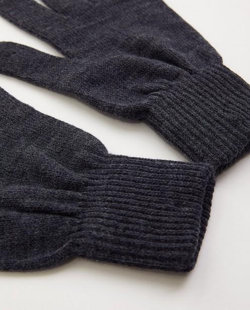 Breigoed - Grijze handschoenen - one size