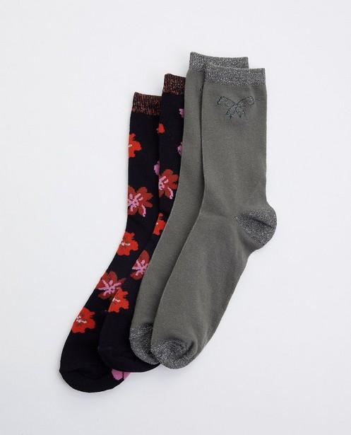 Lot de 2 paires de chaussettes - avec fil métallisé - JBC