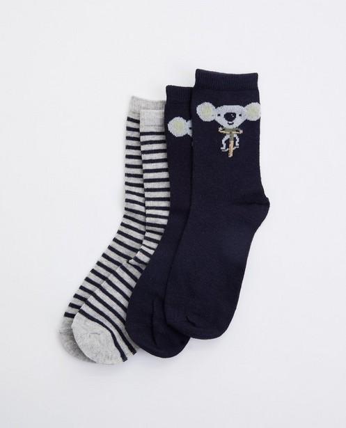 Lot de 2 paires de chaussettes - koala - avec imprimé - JBC
