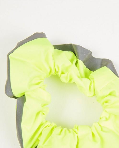 Strickware - Neongelbes Zopfband Flashion Designer