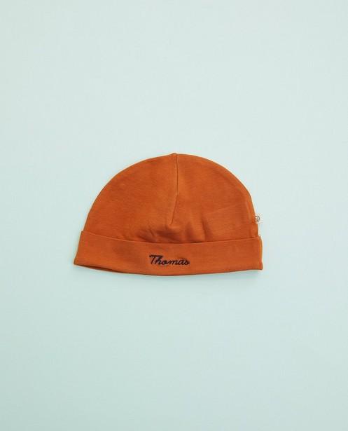 Bonnet brun pour bébés, Studio Unique - personnalisable - Cuddles and Smiles