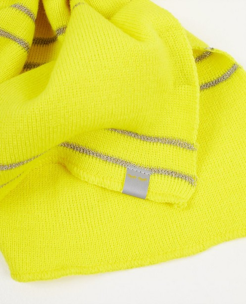 Strickware - Neongelber Schal Flashion Designers