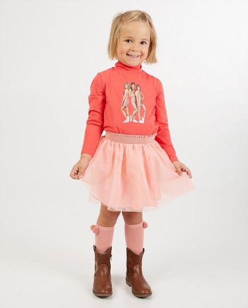Roze rok met tule K3 - effen - K3