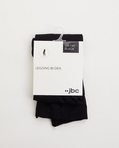 Legging noir 80deniers - stretch - JBC