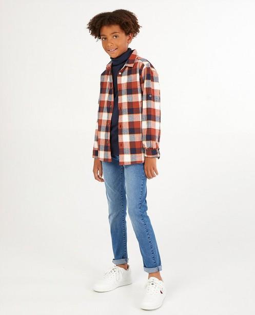 Chemise à carreaux Dylan Haegens - imprimé intégral - Dylan Haegens