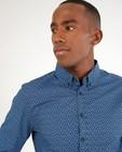 Hemden - Blauw hemd met print Hampton Bays