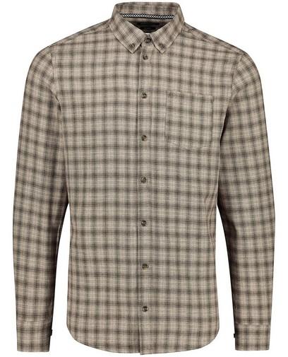 Chemise grise à carreaux