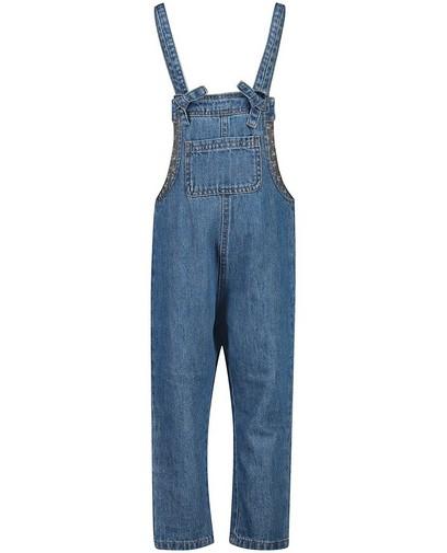 Blauwe jeanssalopette