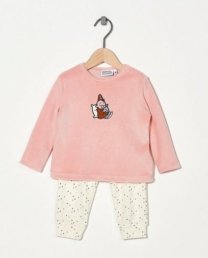 2-delige pyjama in roze Bumba