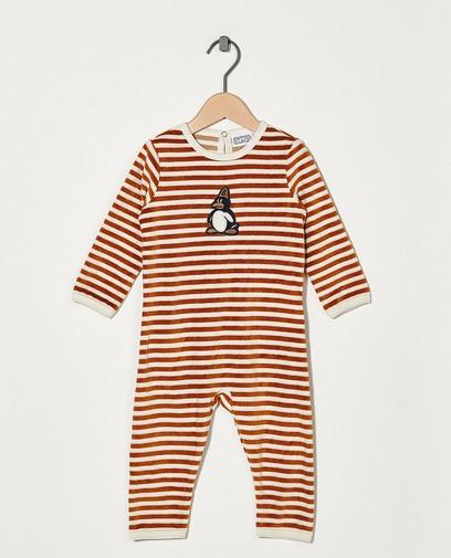 Gestreepte pyjama Bumba