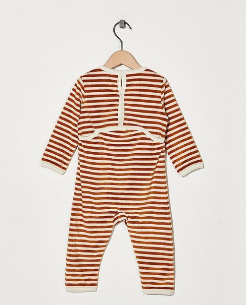 Nachtkleding - Gestreepte pyjama Bumba