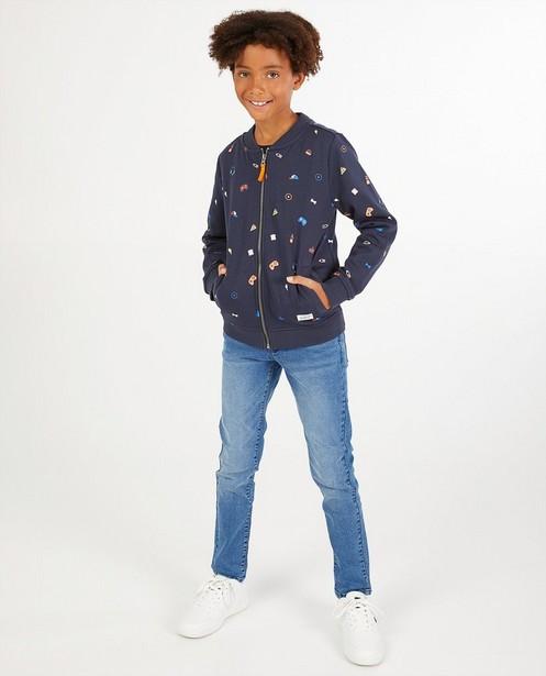 Jeans slim bleu Dylan Haegens - «Simon» - Dylan Haegens