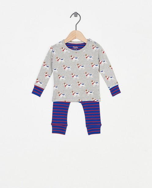 Grijze pyjama met print Hatley - allover - Hatley