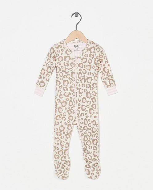 Witte pyjama met print Hatley - met ritssluiting - Hatley