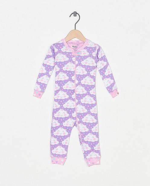 Pyjama mauve à imprimé Hatley - imprimé intégral - Hatley