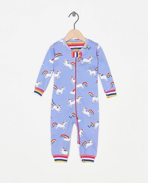 Pyjama bleu à imprimé Hatley - licorne - Hatley