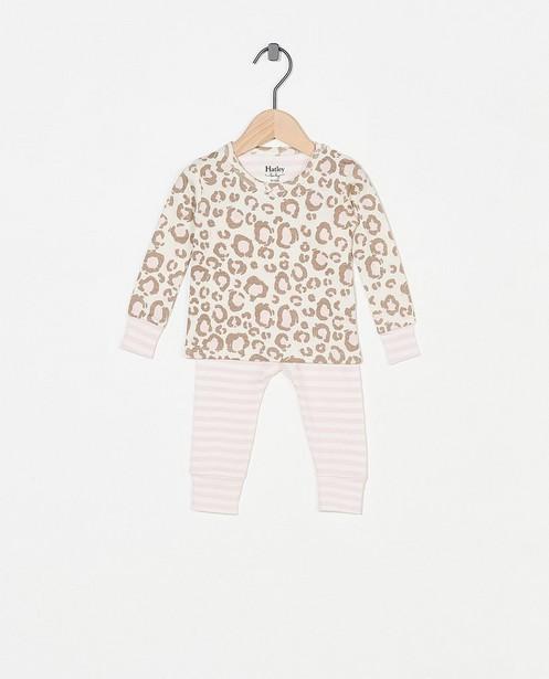 Witte pyjama met print Hatley - tweedelig - Hatley
