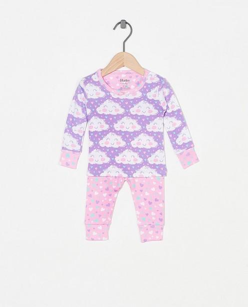Pyjama mauve à imprimé Hatley - deux pièces - Hatley