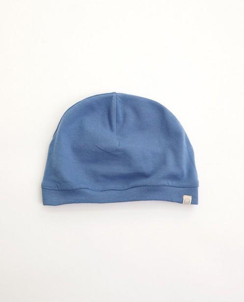 Bonnet bleu - en coton bio - Newborn